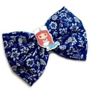 Nautical Sailor Girl Hair Bow